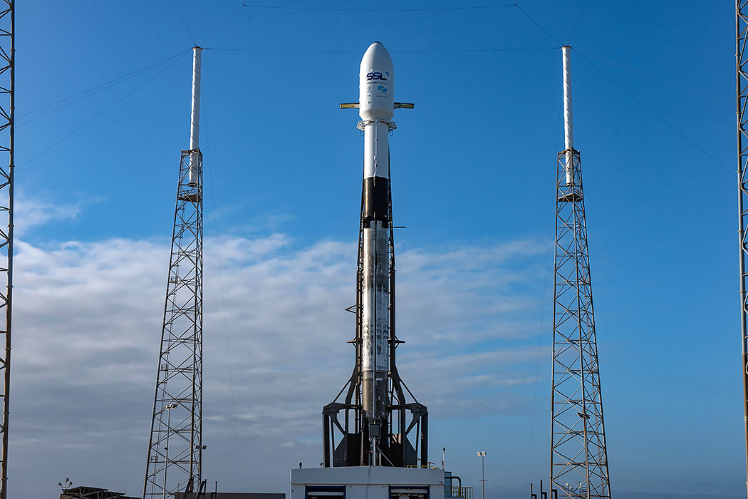 Falcon 9 launches Nusa...