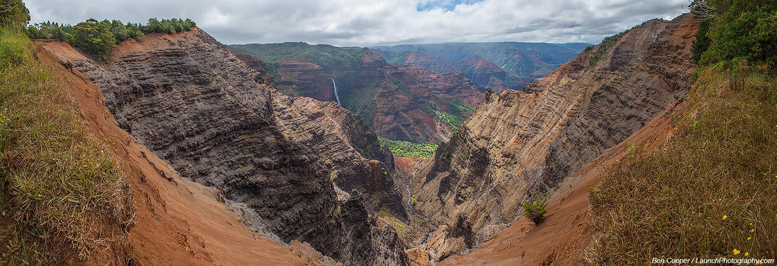 Hawaii >> Waimea Canyon panoramas, Kauai photos, Hawaii photography